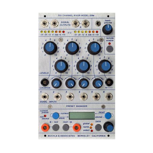 206e Mixer / Preset Manager 1