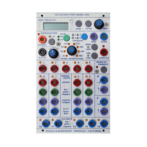 223e Multi-Dimensional Kinesthetic Input / Tactile Input Port 1