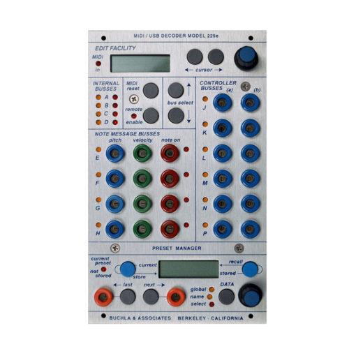225e MIDI Decoder / Preset Manager 1