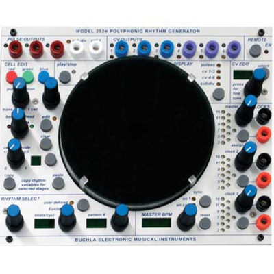 252e Buchla Polyphonic Rythm Generator