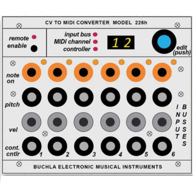 226h CV-MIDI Interface