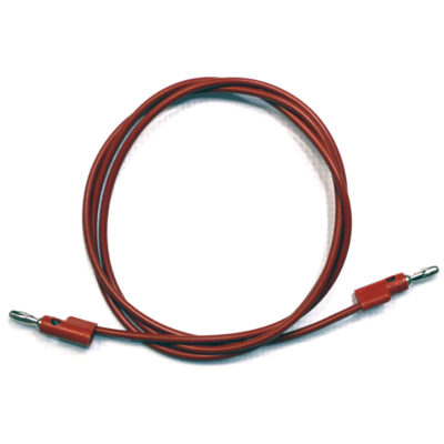 Buchla Banana Cable 48 inch - Red
