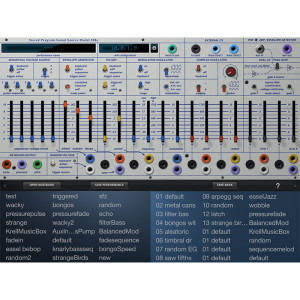Buchla Music Easel iProgram card 4
