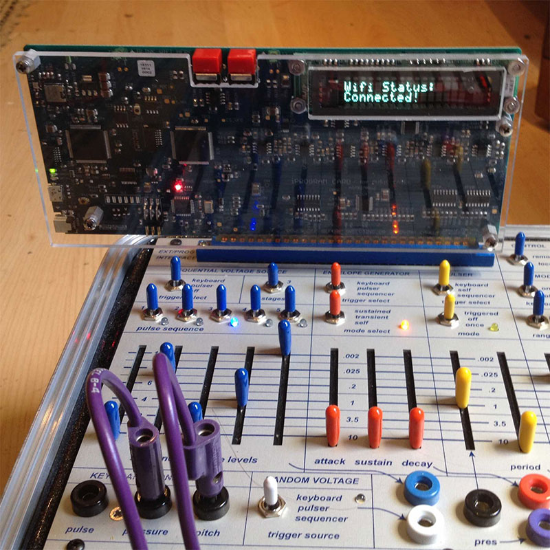 Buchla Music Easel iProgram card